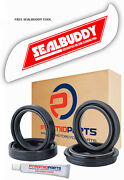 Fork Oil Seals Dust Seals And Tool For Yamaha Yz 80 17/14 Inch Wheels 86-89