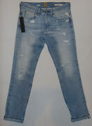 Rare Replay W33 L34 Rrp Andpound460 Raw Exclusive Italian Selvedge Denim Jeans