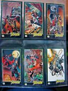 1995 Spawn Widevision 37-42 Non-sports Cards
