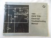 Bmw 1984 318i Genuine Factory Electrical Troubleshooting Manual Diagnostic Tool