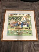 Apple Butter Makers By Charles Wysocki, Offset Lithograph On Paper, 591/1000