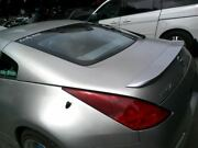 Trunk/hatch/tailgate Coupe With Spoiler Fits 03 350z 796860