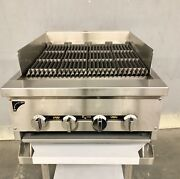 24andrdquo Gas Char Broiler Heavy Duty Charcoal Grill 2andrsquo Natural Or Propane Radiant