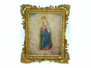 Madonna Oil Painting Picture 18 Century
