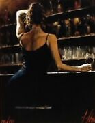 Fabian Perez Letizia 2002 36and039and039x48and039and039 Giclee On Canvas - Xxl