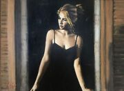 Fabian Perez Balcony At Buenos Aires Vii 30and039and039x40and039and039 Ap 2007 Giclee On Canvas Xl