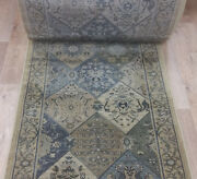 Rug Depot Traditional Oriental Hall And Stair Runner - 32 Wide Blue Rug Runner