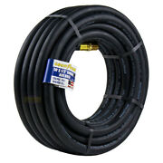 Goodyear 50and039 Ft. X 1/2 In. Rubber Air Hose 250 Psi Air Compressor Hose 12707