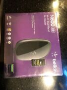 Belkin N600 Wireless Dual-band N+ Router Ver.4000 New Factory Sealed Box