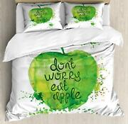 Fruit Duvet Cover Set Twin Queen King Sizes With Pillow Shams Bedding Decor