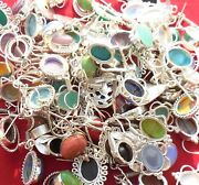Cristmas Deal Mix Gemstone 925 Sterling Silver Overlay Earrings Wholesale