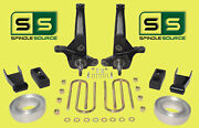 01-10 Ford Ranger 2wd 7/4 Lift Kit Spindles/blocks/shackles/coil Spacers