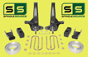 2001-2010 Ford Ranger 2wd 7/5 Lift Kit Spindles/blocks/shackles/coil Spacers