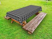 Pinwheel Outdoor Picnic Tablecloth In 3 Sizes Washable Waterproof
