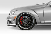 Duraflex Black Series Look Front Fenders 2pc For 2007-2013 S Class W221