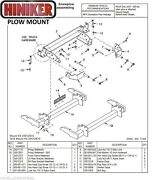 Hiniker Snowplow Mount Gm 4 X 4 And03911-and03914 K2500-3500 Quick-hitch1 25012815