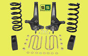01-10 Ford Ranger 2wd 7/4 Lift Kit 6 Cyl Spindles / Coil Springs / Lift Blocks