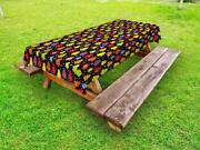 Tree Outdoor Picnic Tablecloth In 3 Sizes Washable Waterproof