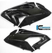 Ilmberger Gloss Carbon Fibre Side Covers Fairing Panels Pair Bmw S1000 Rr 2017