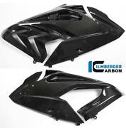 Ilmberger Gloss Carbon Fibre Side Covers Fairing Panels Pair Bmw S1000 Rr 2016