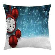 Clock Throw Pillow Cases Cushion Covers Ambesonne Home Decor 8 Sizes