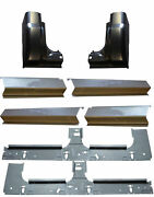 1999-2017 Ford Super Duty Crew Cab Inner And Outer Rocker Panels And Cab Corners