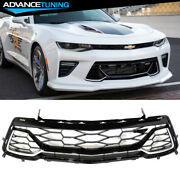 Fits 16-18 Chevy Camaro 50th Anniversary Front Bumper Lower Grille Mesh Grill