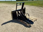 New Tree And Post Puller Spade Cutter And Dig Commercial Duty Skid Steer Tractor