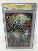 Hall Of Heroes Presents 0 Salamandroid Ethan Van Sciver Cyberfrog Cgc Ss 9.6