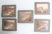 Set Of Five Photos Of Firemens Parade For President William Taft - Hanover, Pa