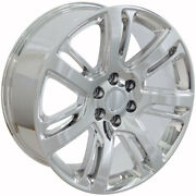 22 Gmc Cadillac Escalade Style Replacement Rims Wheels Chrome 4738 Set Of 4 New