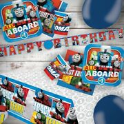 Thomas The Tank Engine Train Party Tableware Decorations And Balloons