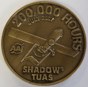 Marine Corps Aviation Unmanned Aircraft Systems Shadow Tuas 200000 Hrs Drones