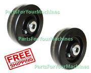 6 Deck Wheels 2 For New Holland 914a Series 60 Side Discharge Mid-mount Mo