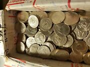 400 Circulated Kennedy Half Dollars 200 Face Value Random Dates And Mint Marks