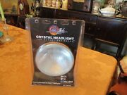 7 Style Glide Crystal Headlight For Harley-davidson Mint With Brochure