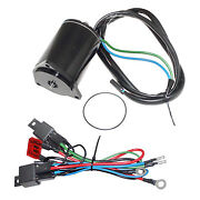 Trim Motor 3 Wire For Yamaha 50-200hp 1985-86 Mounting Flange 68.3mm X-ref 6e