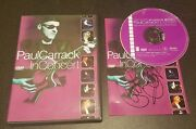 Paul Carrack In Concert Dvd, 2001 Live Music Performance 5.1 Surround Rare
