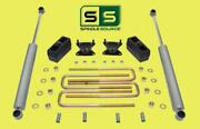 3/3 Lift Kit With Rr Shocks Fits 15-18 Chevrolet / Gmc Colorado/canyon 2wd