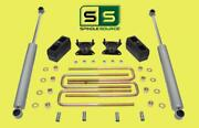 3/3 Lift Kit With Rr Shocks Fits 15-18 Chevrolet / Gmc Colorado/canyon 4wd