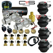 B Air Suspension 2600 Bags Valves Tank Pswitch Airline Compressors Switch Box