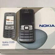 New Nokia Classic 3109 Grey Unlocked Cellular Phone Vintage Collection Rm-274