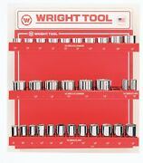 Wright Tool D950 3/4-inch Drive 12-point Standard And Deep Sockets