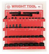 Wright Tool D985 3/4 Drive 6 And 12-point Standard Impact Sockets And Attachments