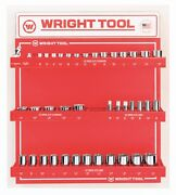 Wright Tool D984 3/8-inch Drive 6 And 12-point Sockets