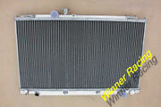 Aluminum Radiator For Toyota Mark 2 Ii/chaser Jzx100 1jz-gte Mt1996-2001 56mm