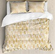 Cocoa Duvet Cover Set Twin Queen King Sizes With Pillow Shams Ambesonne
