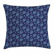 Cartoon Turtle Throw Pillow Cases Cushion Covers Home Decor 8 Sizes By Ambesonne