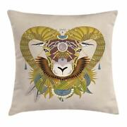 Goat Throw Pillow Cases Cushion Covers Home Decor 8 Sizes Ambesonne