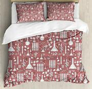 Apothecary Duvet Cover Set Twin Queen King Sizes With Pillow Shams